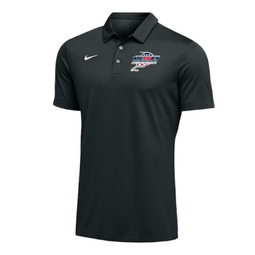 Nike Men's USA Racquetball SS Polo - Black