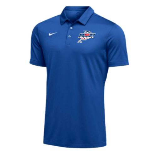 Nike Men's USA Racquetball SS Polo - Royal
