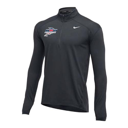 Nike Men's USA Racquetball  1/2 Zip Top - Charcoal