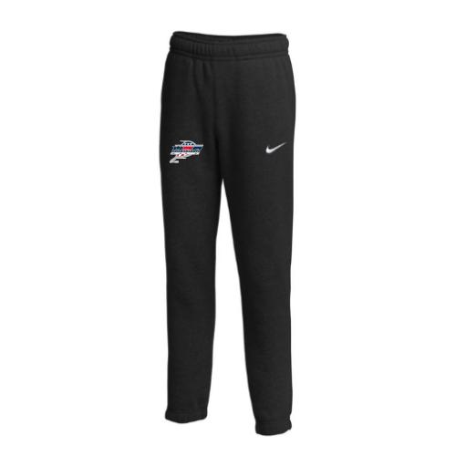Nike Youth USA Racquetball Club Fleece Pant - Black