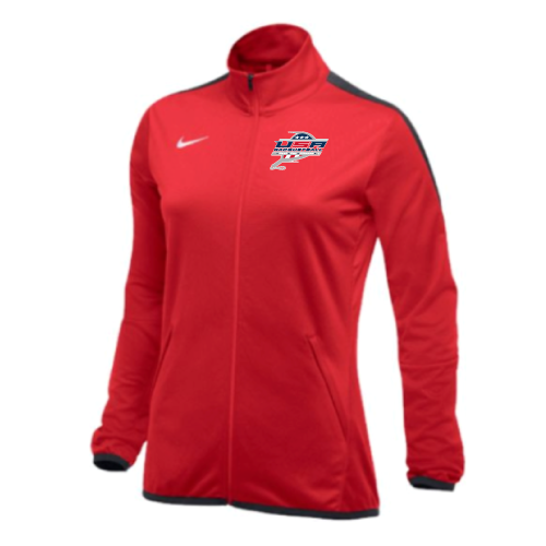 Nike Women's USA Racquetball Epic Jacket - Scarlet/Anthracite