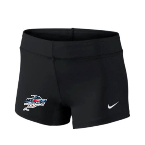 Nike Women's USA Racquetball Performance Game Short - Black