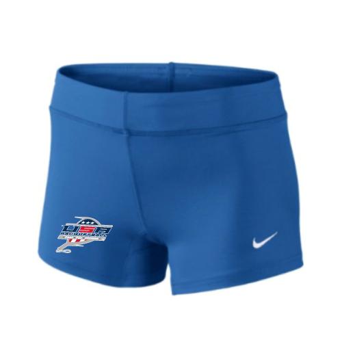 Nike Women's USA Racquetball Performance Game Short - Royal
