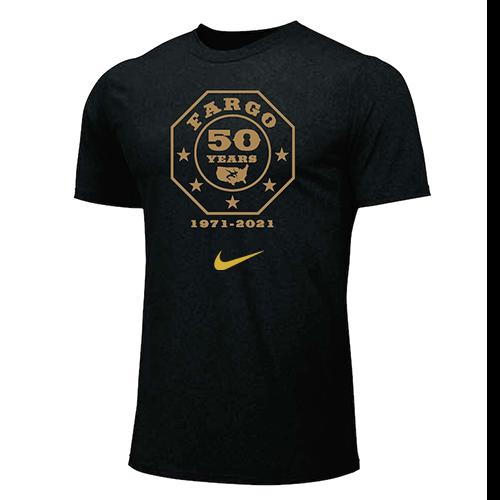 Nike Men's USA Wrestling Fargo 50 Years Tee - Black
