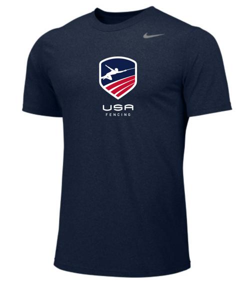 Nike Men's USA Fencing Legend - College Navy/Cool Grey