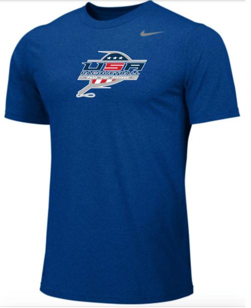 Nike Men's USA Racquetball Legend - Game Royal/Cool Grey