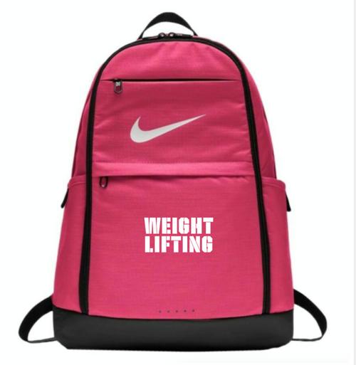 Nike Weightlifting Brasilia Backpack - Pink
