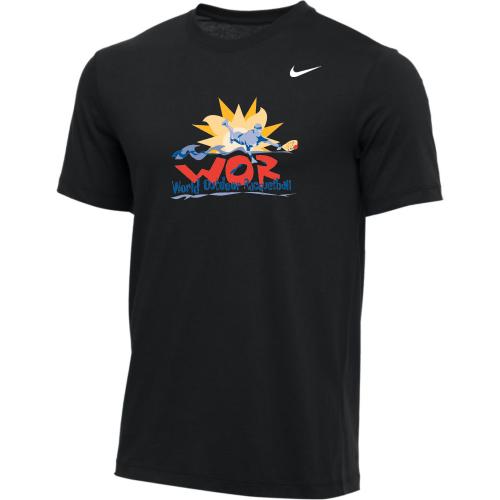Nike Men's USA Racquetball World Outdoor Tee - Black
