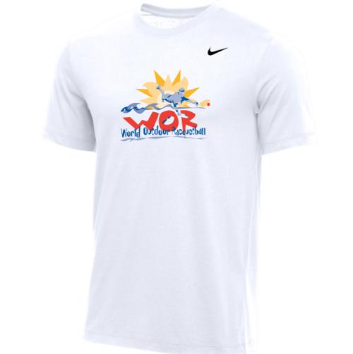 Nike Men's USA Racquetball World Outdoor Tee - White