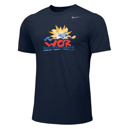 Nike Men's USA Racquetball World Outdoor  Legend - College Navy/Cool Grey