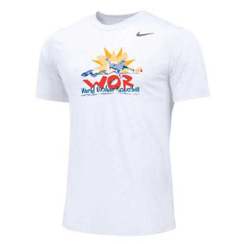 Nike Men's USA Racquetball World Outdoor Legend - White/Cool Grey