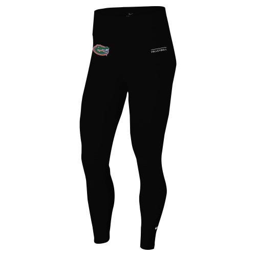 Nike Women's University of Florida One Tight - Black/Orange/Green