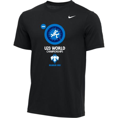 Nike Men's UWW U23 2021 World Championships Tee - Black