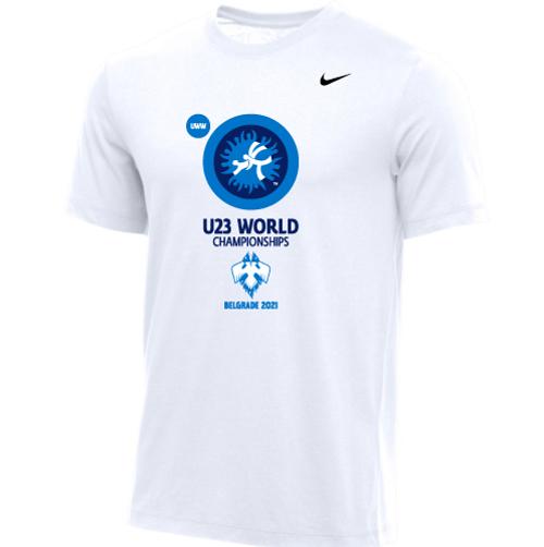 Nike Men's UWW U23 2021 World Championships Tee - White