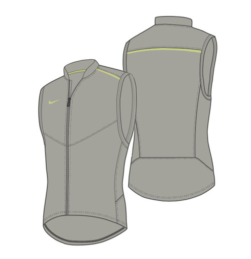 Nike Women's Performance Vest - Pewter