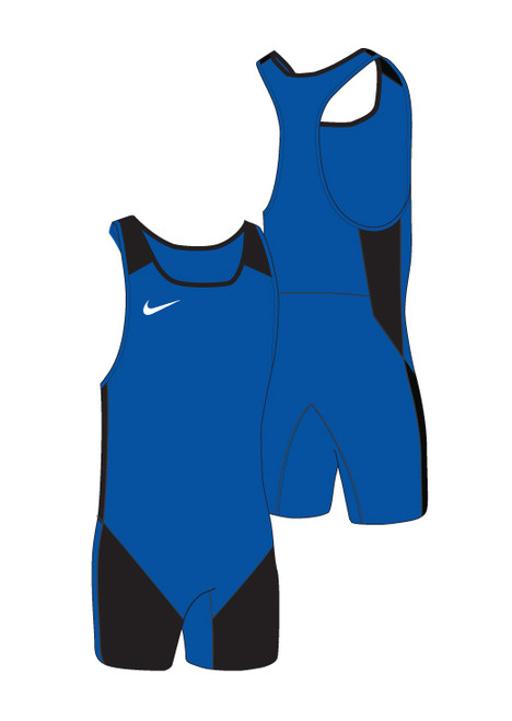 Nike Men's Weightlifting Singlet - Royal / Black