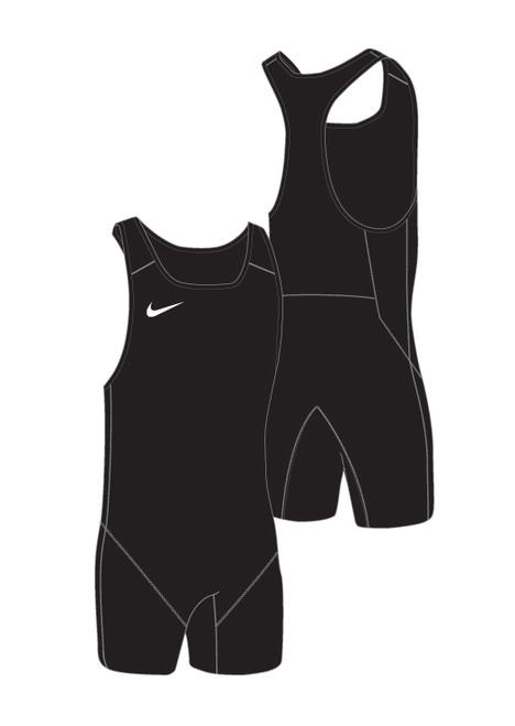 Nike Women's Weightlifting Singlet - Black / Black