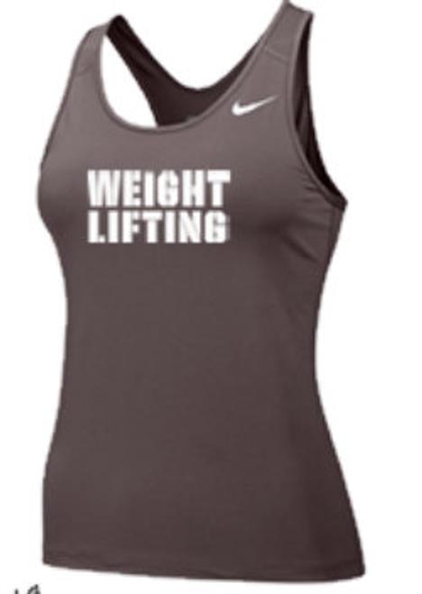Nike Women's Weightlifting Pro Tank - Grey