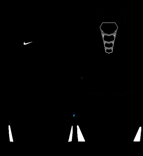 Nike Youth Grappler Elite Wrestling Singlet - Black / White