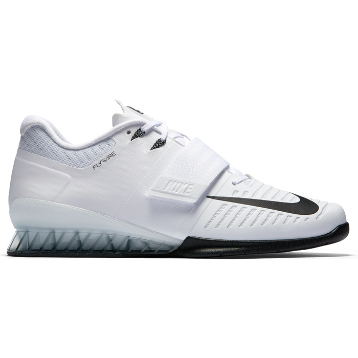 313086efabba Nike Romaleos 3 Weightlifting Shoes - White Black Volt