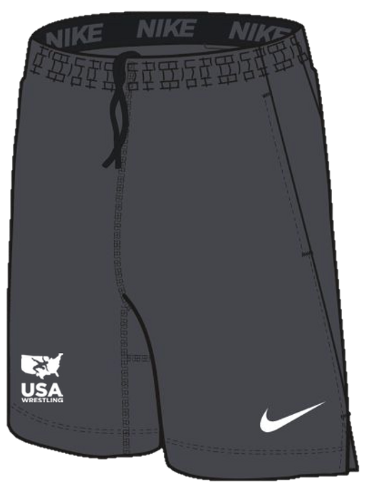 Nike Men's USAWR 2 Pocket Fly Short - Grey/White