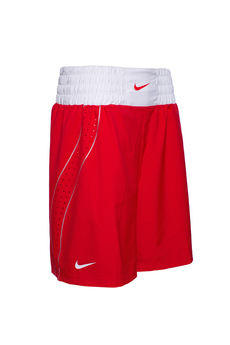 Nike Boxing Short - Scarlet / White