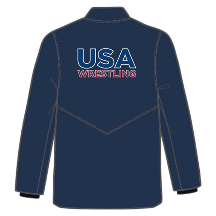 Nike Men's USAWR Bomber Jacket - Navy/White
