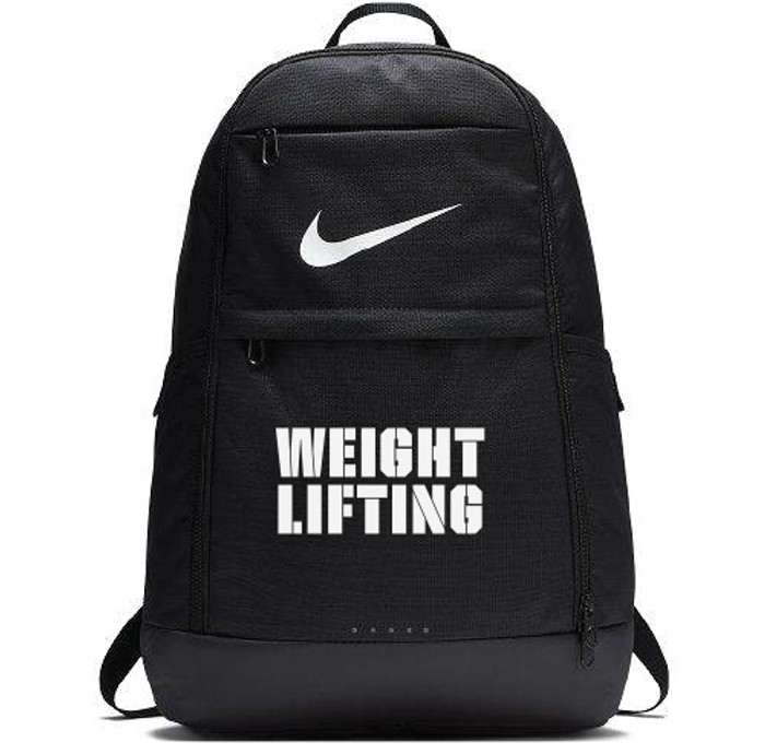 Nike Weightlifting Brasilia Backpack - Grey/White