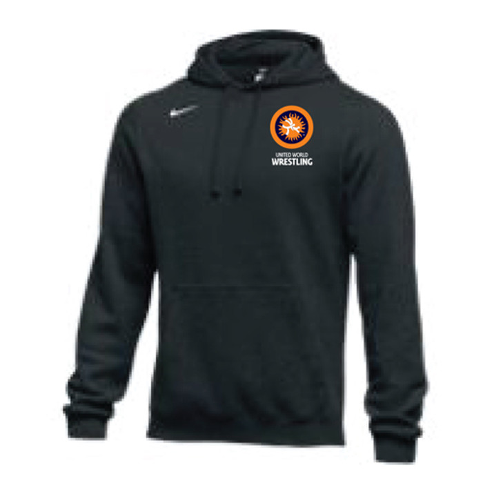 Nike Men's UWW Club Hoodie - Black/White