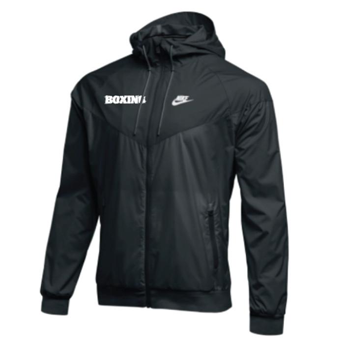 e9be53344cf3 Nike Men s Boxing NSW Windrunner Jacket - Black White