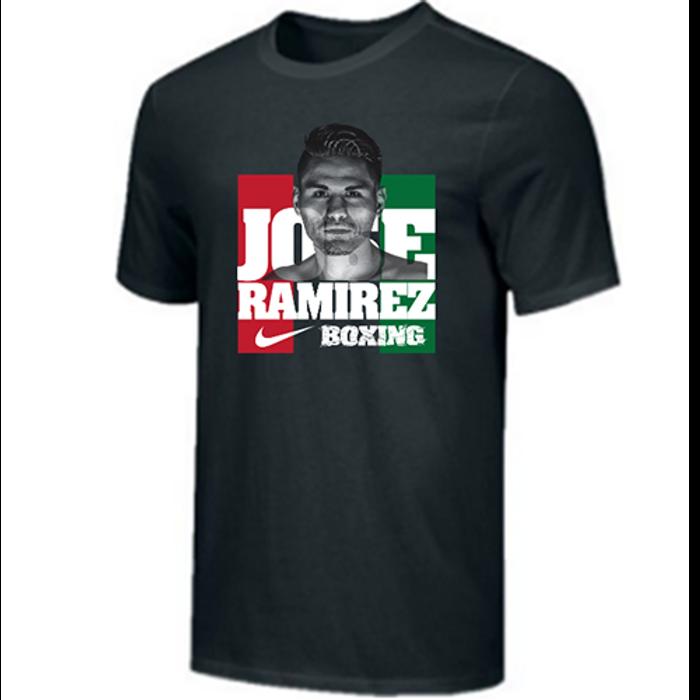 Nike Men's Boxing Jose Ramirez Photo Cotton Tee - Black/White