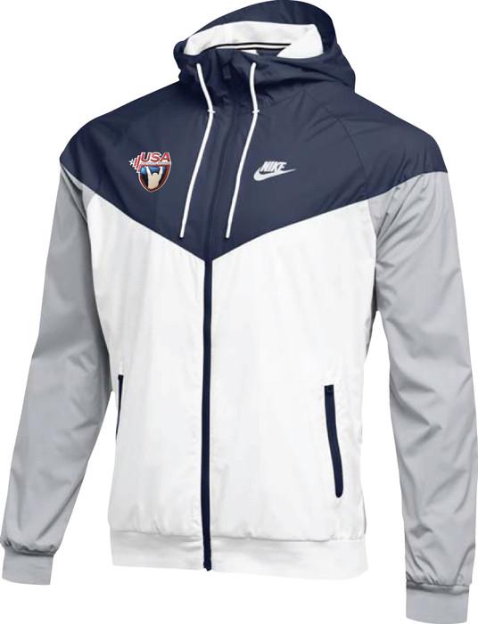 Nike Men's USAW NSW Windrunner Jacket - Navy/Red/White/Navy
