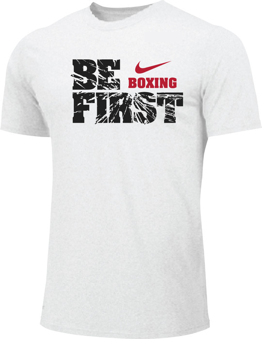Nike Men's Boxing Be First Cotton Tee - White
