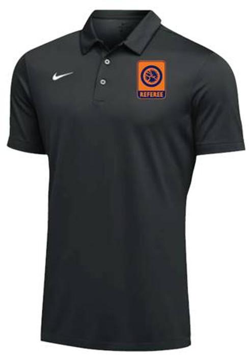 Nike Men's UWW Referee SS Polo - Black