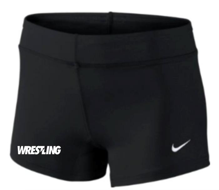 Nike Women's Wrestling Performance Game Short - Black/White