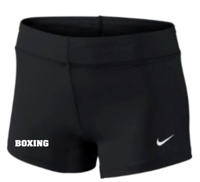 Nike Women's Boxing Performance Game Short - Black/White