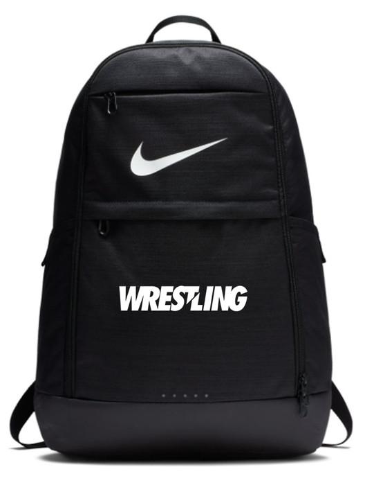 Nike Wrestling Brasilia Backpack - Black/White