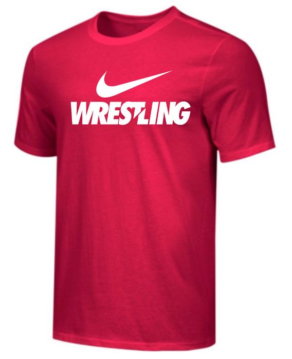 Nike Men's Wrestling Tee - Red
