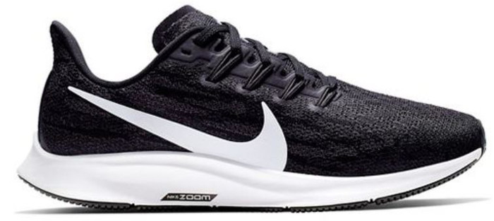 Nike Men's Air Zoom Pegasus 36 - Black/White/Grey