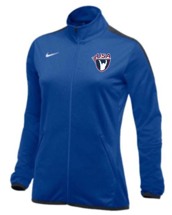 Nike Women's USAW Epic Jacket - Royal/Anthracite