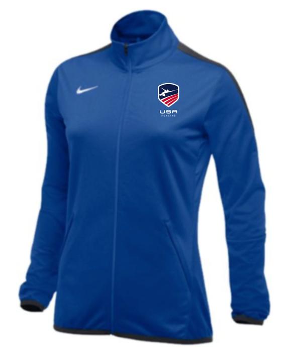 Nike Women's USAF Epic Jacket - Royal/Anthracite