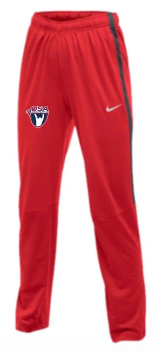 Nike Women's USAW Epic Pant - Scarlet/Anthracite