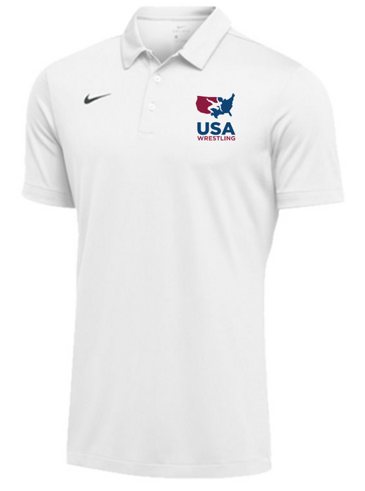 Nike Men's USAWR SS Polo - White