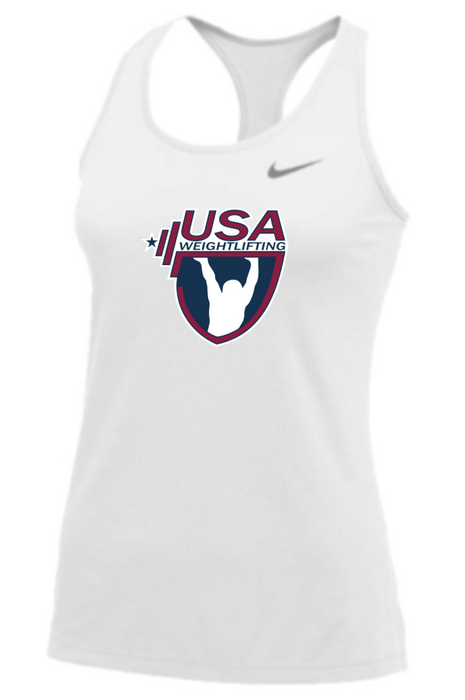 Nike Women's USAW Balance Tank - White