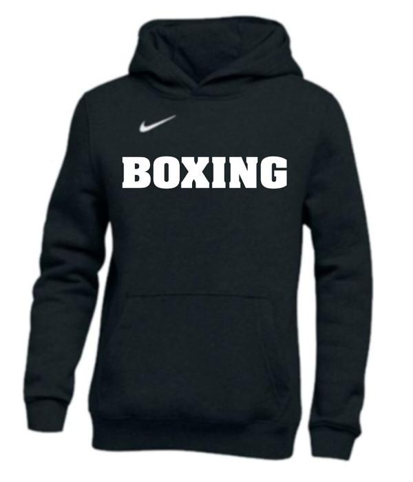 Nike Men's Boxing Club Fleece Hoodie - Black