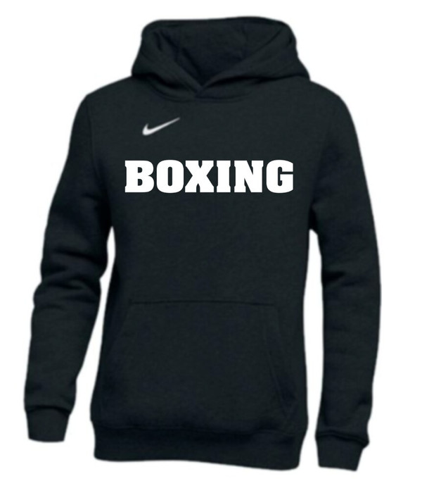 Nike Men's Boxing Club Fleece Hoodie - Black