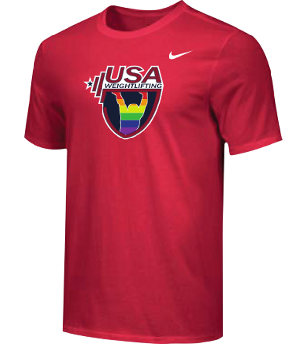 Nike Men's USAW Pride Tee - Red