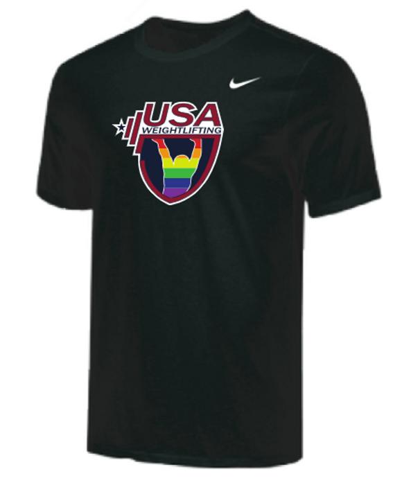 Nike Men's USAW Pride Tee - Black
