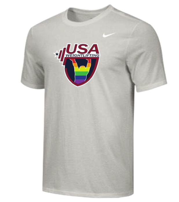 Nike Men's USAW Pride Tee - Grey