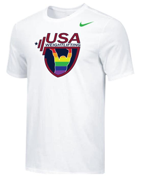 Nike Men's USAW Pride Tee - White